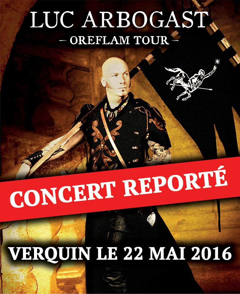 Report du concert de Verquin